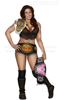 Mickie James by Fefe1414
