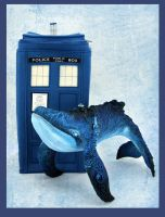 TARDIS and Whale by hontor