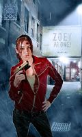 Zoey Alone Poster by TamvakisPhoto