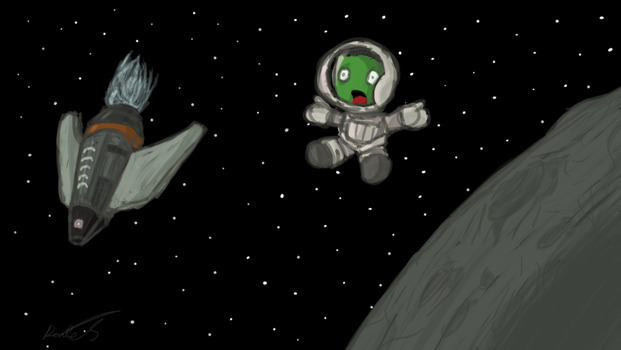 Kerbal Space Program by SheegothHunter