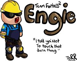 Team Fortress 2 - Engineer by Torrunt