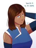 Korra Haircut by sexyfairy