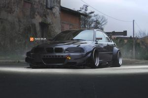 widebody bmw m3 by hugosilva