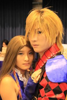 FFX-2 Shuyin and Lenne by naokunn