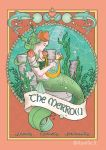 The Merrow - coloured page by Aurelie-S