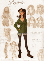 Lottie Reference sheet by onone-chan