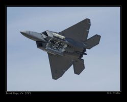 F-22A's Weapons Bay by jdmimages
