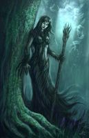 Dryad Forest by Jakdaw