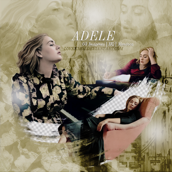Adele PNG Pack #4 by LoveEm08