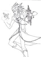 Axel lineart again unfinished by dlazaru