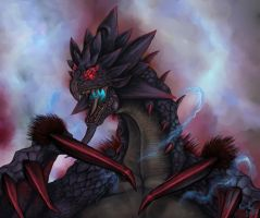 Black Rathian -UNKNOWN- by Escama