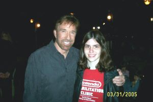 Me with Chuck Norris... by tier-xhan