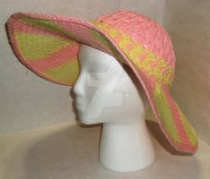 Loom Knitted Summer Hat by ScarlettRoyale