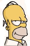 Homer by Exfrayed