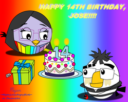HAPPY BIRDDAY, JOSE!! by MeganLovesAngryBirds