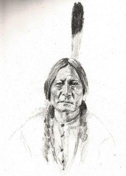 Sitting Bull by marychaPhotography