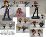 YuGiOh Figures by DivineSpiritual