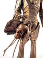 Damaged cyberman (Close-up) by scoobsterinc