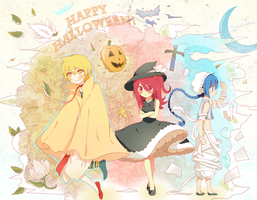 Happy Halloween Magi by hyuugalanna
