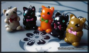 Kitty Charms by Si3art