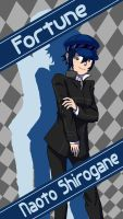 P4 - Naoto Shirogane by LittleFrost