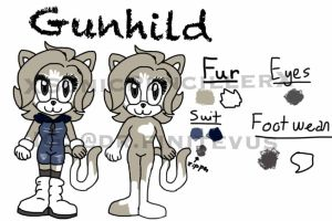 Reference sheet: Gunhild by XSonicPencillerX