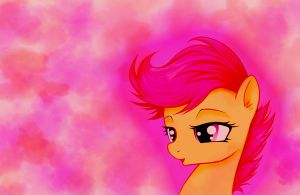 Scootaloo wallpaper by MoonlightClouds