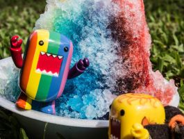 Rainbow Shave Ice!!! by PiliBilli