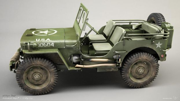 Willys Jeep 01 by zsozs