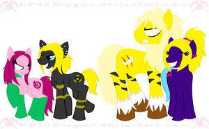 XPonys: The Creed Family by KPenDragon