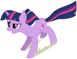 Twilight enjoying the Anti-Gravity Spell. by Yanoda