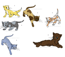 Cat Adoptables by SaintPestilence