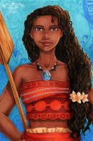 Moana (Vaiana) by maxicarry