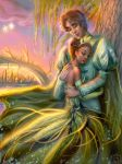 Princess and the Frog by emilynguyenart