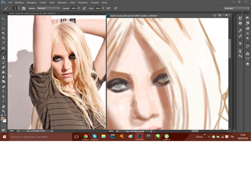 Taylor Momsen /WIP by LizzyPON