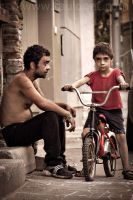 father and son by raulonet