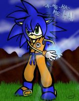 Gonic: Sonic and Goku 2 by Kniteschaed