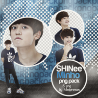 Choi Minho (SHINee) PNG Pack by Maxiprenses