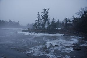 Winter Fog II by KeenPhotography