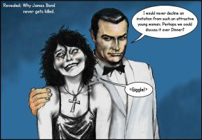 James Bond and Neil Gaiman's Death by Nick-Perks