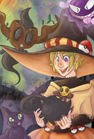 A Witch and her Pokes~ by the-Assyrian
