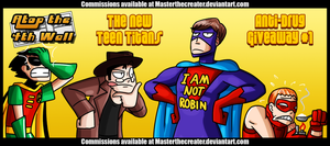 AT4W: New Teen Titans by MTC-Studios