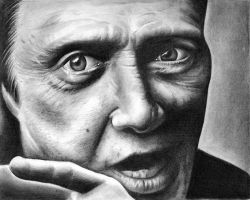 Christopher Walken by shonechacko