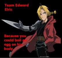 Team Edward Elric by GinnyStoleMyMan