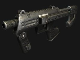 Halo SMG by dano555666