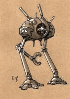 Robot a Day 06 by ChadTHX1138