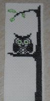 Bookmark - Owl by thaisdalloz