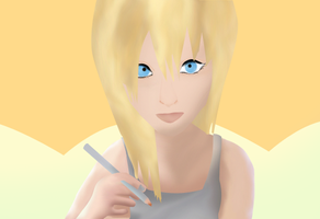 Namine Digital painting by MD3-Designs