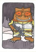 Star Wars - Bossk by crpechonick
