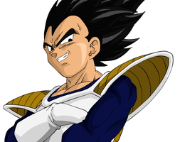 Vegeta by Xphire906